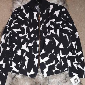 Anne Klein black and white jacket